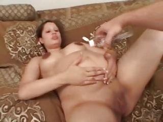pregnant babe enjoys a difficult libido