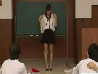 japanese lecturer reluctantly goes naked naked