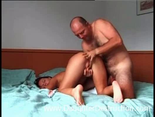 daddy violated me inside my bottom