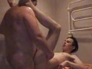 heavy gay daddy slamms twinks strong bottom into
