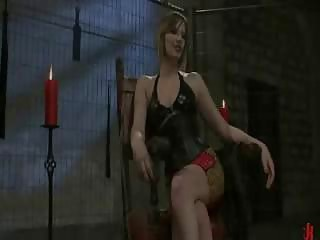 horny milf into pervert domination with triple