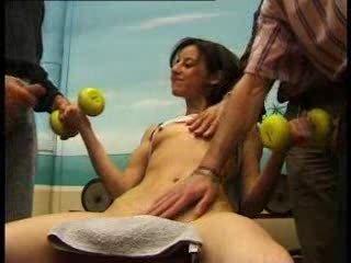 arab lady musculation - french