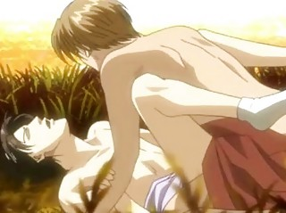handsome anime gay having super penetration