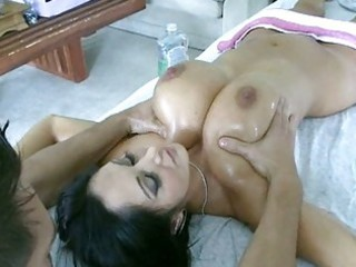 desperate girl bends over