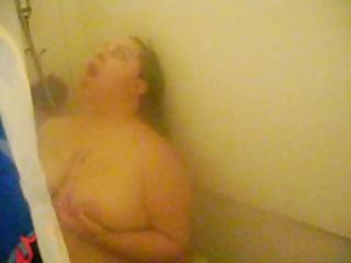 wife into bathroom