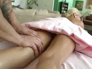 young massage turns inside dick sucking