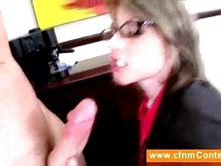 cfnm secretaries giving cfnm dick sucking