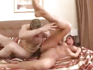 extremely impressive slutty girl drilling inside