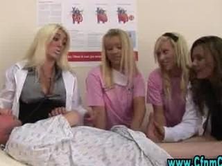 slutty cfnm nurse girls own filthy