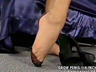 foot tease strap on part4