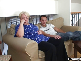 lustful inexperienced male fucks granny albino