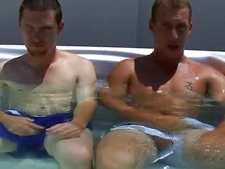underwater jerk off inside the swimmingpool