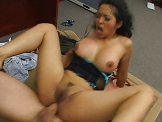 mad desperate brunette amp acquires ass drilled