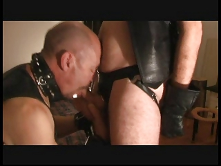 leather sucker