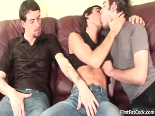 fucker own shis pretty visage jizzed with gay gay