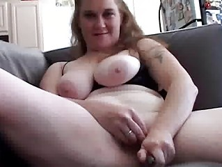 bbw playing herself