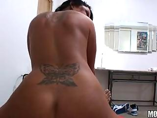 huge bossom brunette pierced uneasy  point of