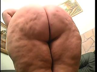 bbw naughty pale pleases herself sitting on a