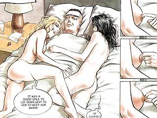 comic sexual desperate albino fuck group fuck