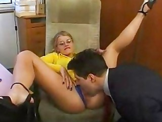 hot assistant having a day with her boss
