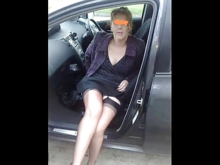 i like muck lingerie into the car.......