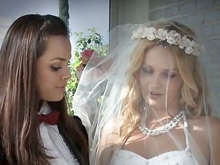 stunning homosexual woman brides