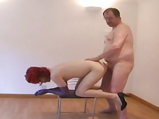 elderly dad assplay bare fuck red tv crossdresser