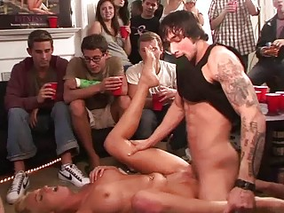 naughty amateur porn group sex with fellatio and