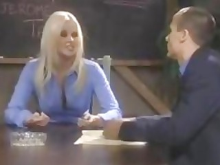 office albino babe tough cumshots with boss