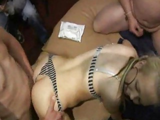 swingers bar bunch  group sex