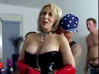 erica lauren is a shorthaired blonde mature babe