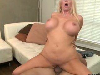 blond lady pierced