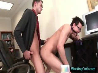 foureyes acquiring some chubby dick up the ass