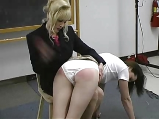 chick spanked by her professor