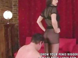 femdom pantyhose legs and leg worship part4