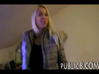 astonishing blondie czech angel picked up and