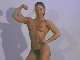 topless wrestling  czech feminine bodybuilder vs