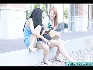 tanya and lacie models do smoke funny day with a