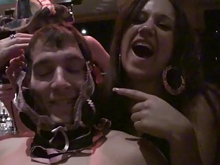 naughty gathering babes having fuck with boy