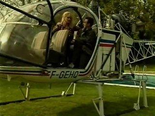 fellatio into a helicopter!