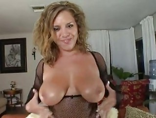 allie foster wraps her pure knockers plump a