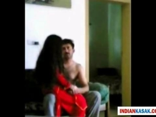 indian desi police teenager pleasing with his gf