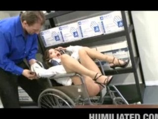 medical probe humiliation!