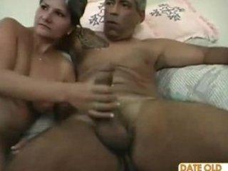 naughty bushy elderly slut