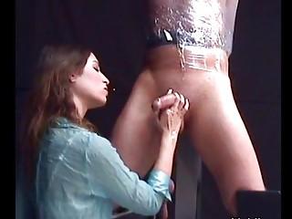 Amber Rain Femdom Handjob Pt1