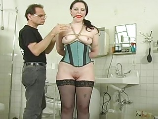 her anal is soundly spanked