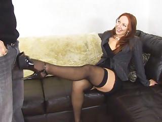ginger pantyhose legs baroness inside deed