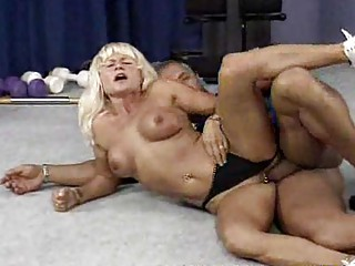 cougar bodybuilder needs uneasy  bang