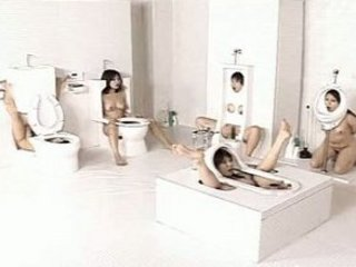 japanese human toilets, bizarre but awesome