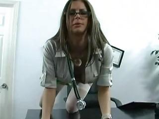 charming huge boobed medic obtains pierced inside